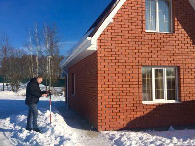 Замер дома и земельного участка г. Чехов, ул. Гарнаева